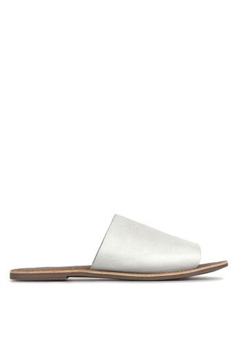 Betts white Madrid Leather Slip-On Sandals D3B30SH8DC25C2GS_1