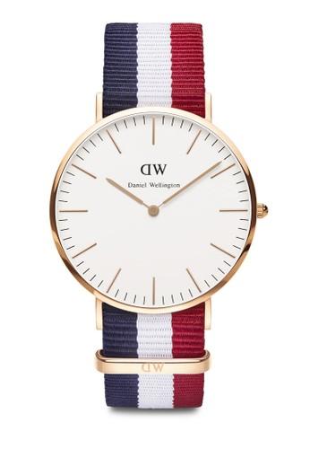 Classesprit 京站ic Cambridge-Watch Rose gold 40mm, 錶類, 其它錶帶