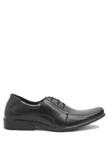 Dr. Kevin black Dr. Kevin Men Dress & Bussiness Formal Shoes 13199 - Black DR982SH0U5ZVID_1