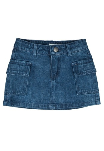 FOX Kids & Baby blue Denim Skirt A13D4KABC006AFGS_1