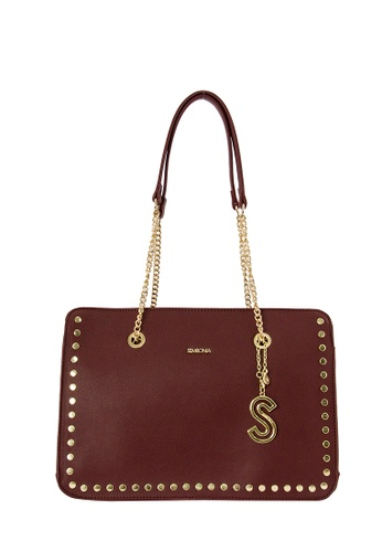SEMBONIA red SEMBONIA Synthetic Leather Shoulder Bag (Red) 8619CACAE9DAA9GS_1