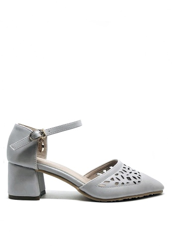 Twenty Eight Shoes purple Cutout Elegant Mid Heel 546-21a B3697SH38865F1GS_1