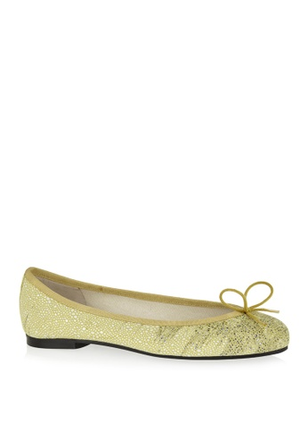 Covet green French Sole Henrietta Ballet Flats CO331SH64RSDPH_1