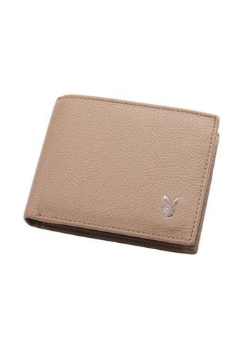Playboy beige Wallet 3186FAC5523D68GS_1