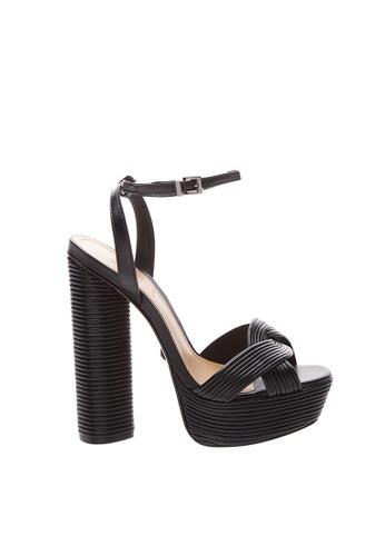 SCHUTZ Black Platform Sandals - LUAH [BLACK] AED75SHCD0AD1DGS_1