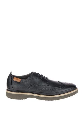 Hush Puppies black Samme Bernard Casual Shoes HU326SH0KMIHPH_1