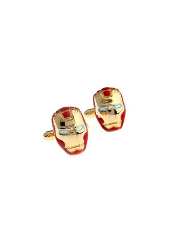 The Little Link Cufflinks gold Iron Man cufflinks TH089AC0G4YQSG_1