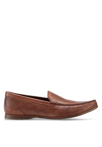 ALDO brown Phelot Loafers 3886CSH7481096GS_1