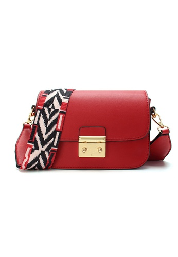 Lara red Women's Small Sling Bag 93623AC109B1DDGS_1