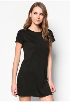 Basic A Line Jersey Dress