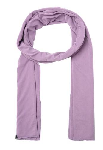 Trendyol purple Lilac Cotton Scarf CE073AAD908A83GS_1