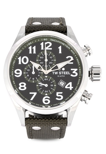 TW Steel black VS23 Chronograph Watch 9C6D8AC6AAFC28GS_1