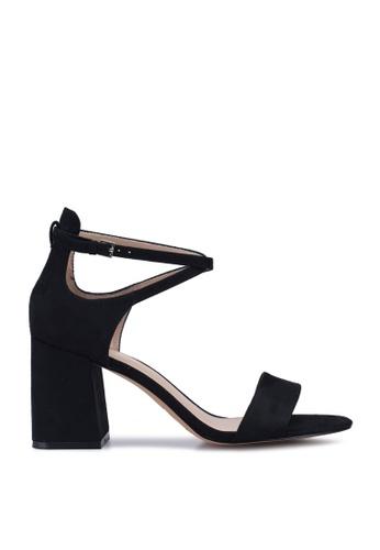 ALDO black Aboedia Open Toe Ankle Strap Block Heels 298AFSH932BBF4GS_1