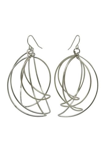 Buy Fur Nyce Stainless Steel Dangle Earrings Online   ZALORA Malaysia 4f6ce44d65