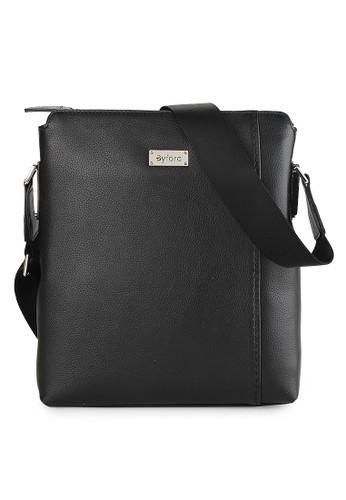 Byford black Sling Bag Male BY242AC0US3JID_1