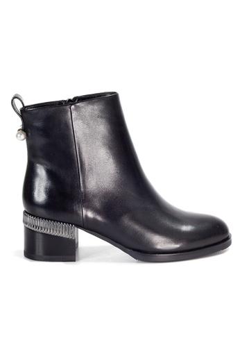Shu Talk 黑色 Amaztep 優雅高跟中靴 FF8DCSH2D682B0GS_1