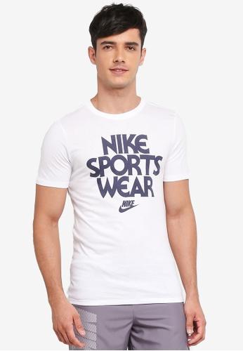 Nike white Nike Sportswear T-Shirt 360F0AA75A9888GS_1