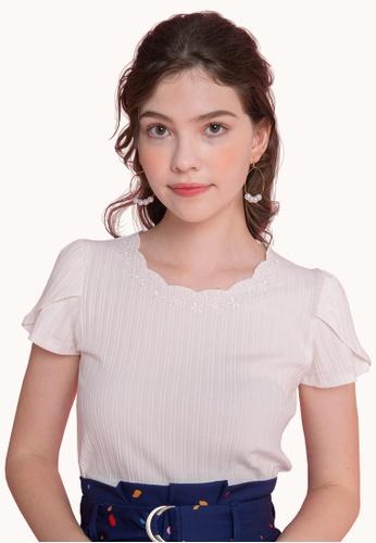 L'zzie white LZZIE ANYA TOP - WHITE 339ECAA6BB90D4GS_1