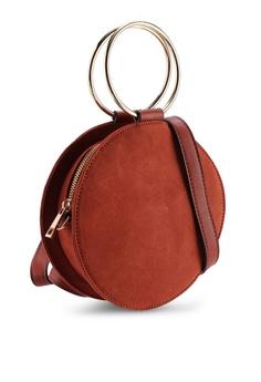 d00e176542abe 40% OFF Miss Selfridge Metal Round Crossbody Bag S  59.90 NOW S  35.90  Sizes One Size