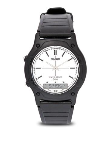 Casio black Casio Jam Tangan AW-49HE-7EV Hitam ABB64AC61874C3GS_1