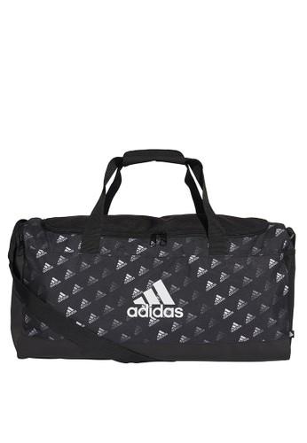 ADIDAS multi linear graphic duffel bag 22853ACDDB626AGS_1