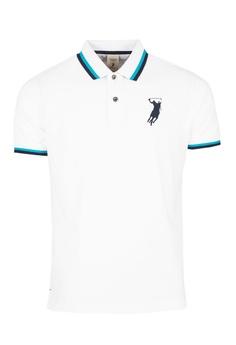 6b3ba34d08c7f POLO HAUS white Polo Haus - Basic Collar Tee (White) 5B336AA20DD8A1GS_1