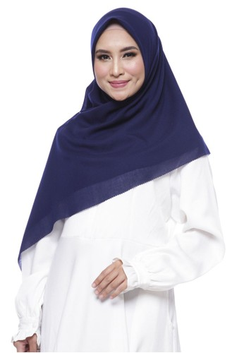 Novella Scarves blue Crown Blue Voal Premium Scarf (Superfine)  3C405AAA3AE357GS 1 ef3aa8ad2e
