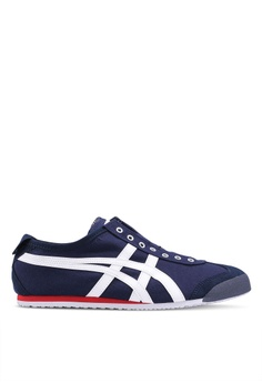 huge discount 3ef28 d0a07 Onitsuka Tiger navy Mexico 66 Slip-Ons ON067SH0SVVHMY 1