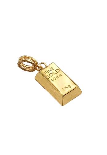Arthesdam Jewellery Arthesdam Jewellery 916 Gold Bar Pendant/Charm - 1.3g 712A0AC1175EDBGS_1