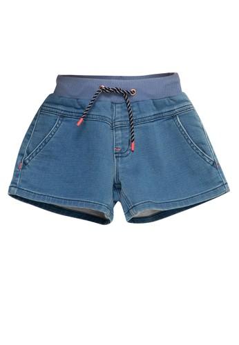 Giordano blue Girls Denim Short B04C2KA63E0E0AGS_1