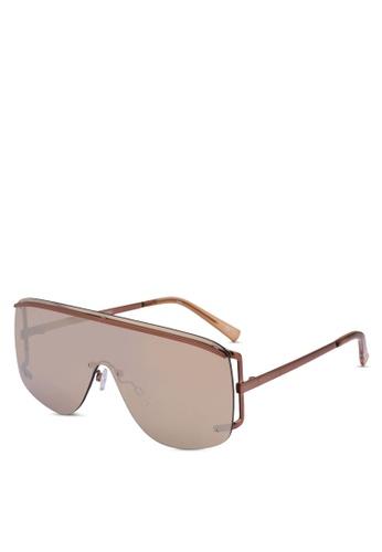 Le Specs brown Elysium 1702082 Sunglasses FF9E6GL597D59EGS_1