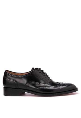 Bristol Shoes black Baldwin  Wingtip Oxfords BR842SH33TLYPH_1