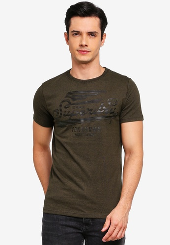 Superdry 黑色 High Flyers Tonal T恤 33A26AA7988D29GS_1