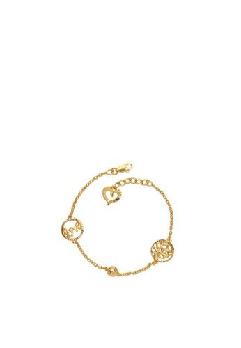 Buy Tomei Flower Of Love Baby Bracelet Tomei Yellow Gold 916 22k Tz B2934 1c Online Zalora Malaysia