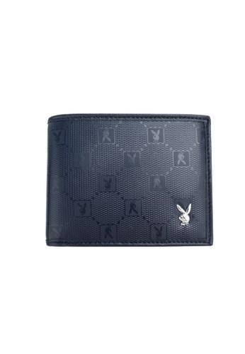 Playboy blue Playboy Bi-Fold Wallet D8755AC08155D9GS_1