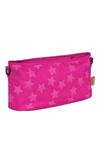 LASSIG pink Lassig Buggy Organizer Diaper Bag (Magenta) B3FC8KC4B3E821GS_1