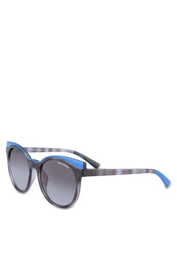 Armani Exchange blue Armani AX4064SF Sunglasses AR162GL0RLY0MY_1