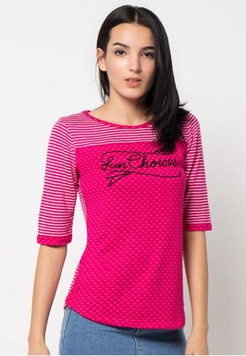 Cressida Ladies pink T-Shirt 2 Face CR653AA32PULID_1