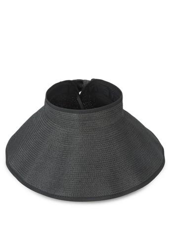 經典可卷折疊蝴蝶結草esprit taiwan帽, 飾品配件, 飾品配件