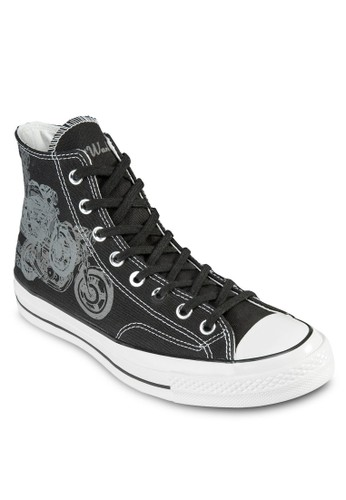 Chuck Taylor All Star Andy Warhoesprit hk分店l 70' 印花高筒帆布鞋, 鞋, 鞋