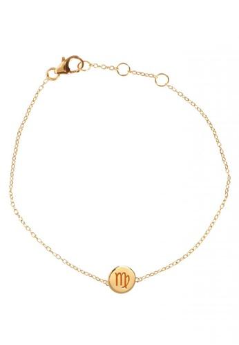 RAM Jewelry gold Zodiac Bracelet - Virgo 762FCAC128741DGS_1
