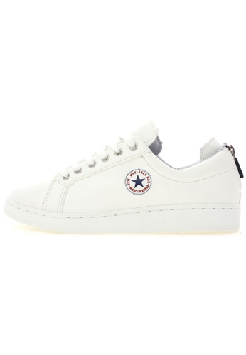 Maxstar Maxstar O2 6 Holes Synthetic Leather Back Zipper PU Classic Fashion Sneakers US Women Size MA168SH72URZHK_1
