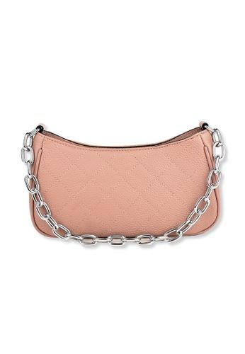 Esfolar pink Esfolar Baguette Bag(EA-200002) 177DBAC4F10945GS_1
