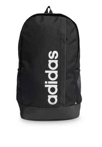 ADIDAS black adidas essentials unisex logo backpac 428DBAC9012AF7GS_1