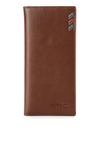 Adobree brown Long Wallet A8EE6AC6B5D3D6GS_1