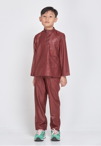 MOTHER & CHILD purple Baju Melayu Sultan Exclusive Kids F720FKA7660669GS_1