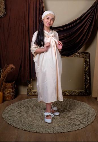 Princessa Flami beige Kaftan Anak Creme 75F0FKA8E40331GS_1