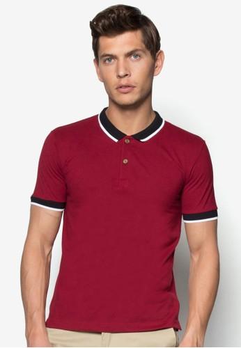 撞色領POLO衫, 服esprit hk store飾, Polo衫