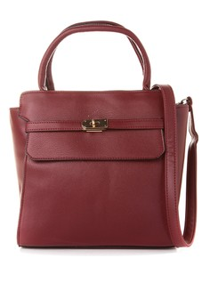 Hepburn Top Handle Structured Bag