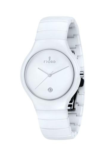 Fjord white Fjord Men's Ceramic Bracelet Watch - FJ-3006-33 EECD5ACFC1E491GS_1